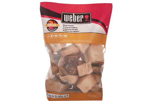 Weber Firespice Pecan Wood Chunks - 17137