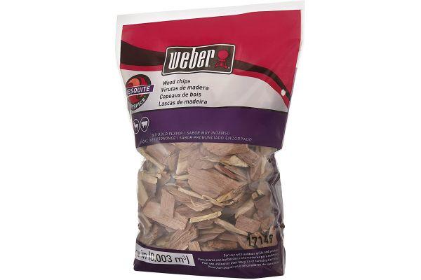 Large image of Weber Mesquite Wood Chips - 17149
