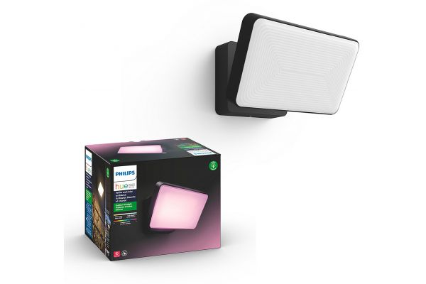 Large image of Philips Hue White And Color Ambiance Discover Outdoor Floodlight - 1743530V7