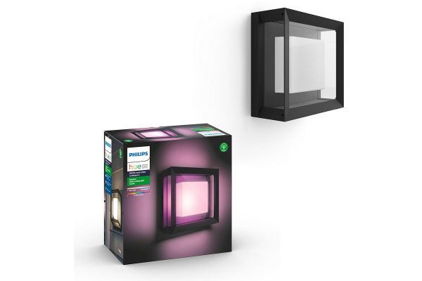 Large image of Philips Hue White And Color Ambiance Econic Outdoor Wall Light - 1743830V7