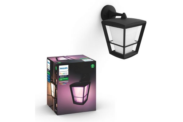 Large image of Philips Hue White And Color Ambiance Econic Outdoor Wall Light - 1744030V7