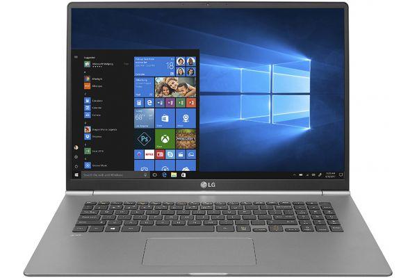 "LG Gram Z990 Dark Silver 17"" Laptop Intel i7-8565U 16GB RAM 1TB SSD, Intel UHD Graphics 620 - 17Z990-R.AAS9U1"