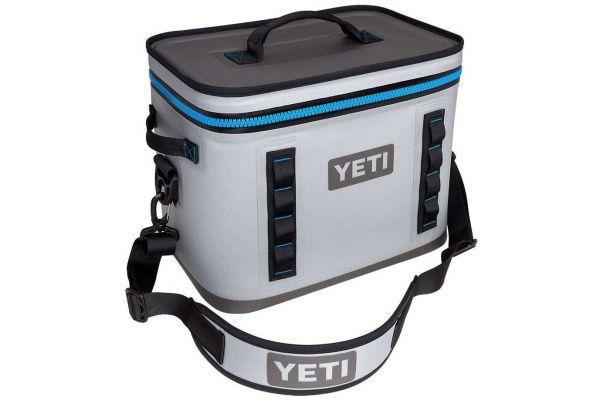 YETI Fog Grey Hopper Flip 18 Cooler - 18050110000