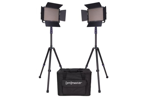 ProMaster LED1000D Specialist LED 2 Light Transport Kit Daylight - PRO1875