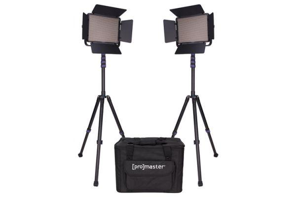 Large image of ProMaster LED1000D Specialist LED 2 Light Transport Kit Daylight - PRO1875