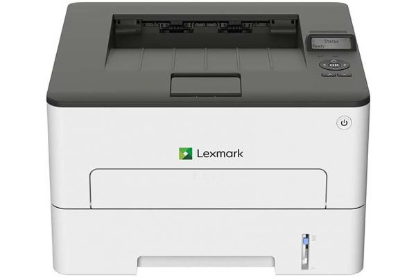 Large image of Lexmark Compact Laser Printer With Wireless And Duplex Printing - 18M0100