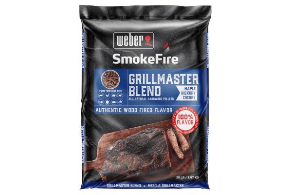 Large image of Weber GrillMaster Blend All-Natural Hardwood Pellets - 190001