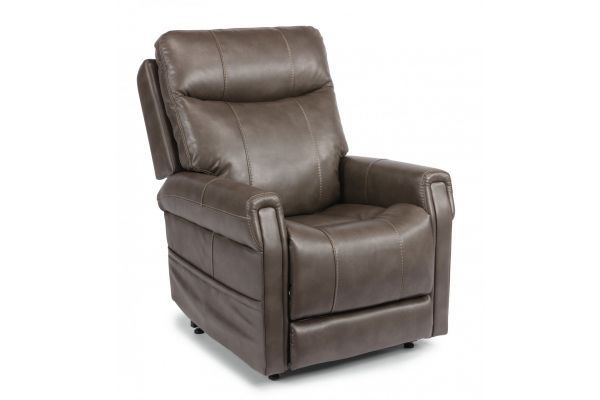 Large image of Flexsteel Jenkins  Fabric Power Lift Recliner With Power Headrest & Lumbar - 1914-55PH-039-01