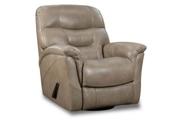 Large image of HomeStretch Mushroom Swivel Glider Recliner - 192-93-17