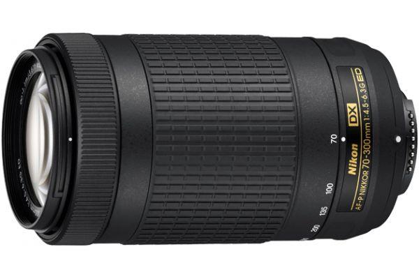 Large image of Nikon AF-P DX NIKKOR 70-300mm f/4.5-6.3G ED Camera Lens - 20061