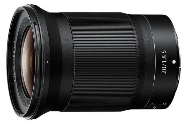 Large image of Nikon NIKKOR Z 20mm f/1.8 S Lens - 20093