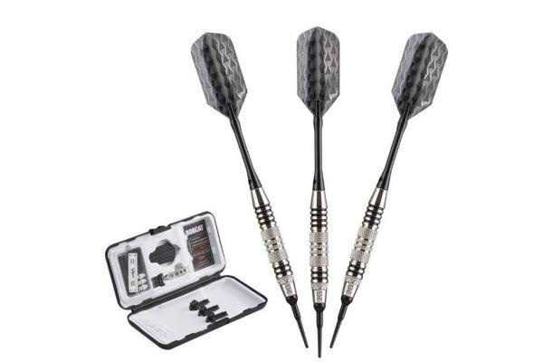 Viper By GLD Products Bobcat Adjustable Black Ring Soft Tip Darts - 20-0939-16