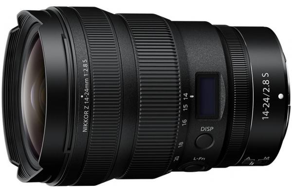 Large image of Nikon NIKKOR Z 14-24mm f/2.8 S Lens - 20097