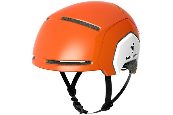 Large image of Segway Orange XS Kids Helmet - 20.99.0005.04