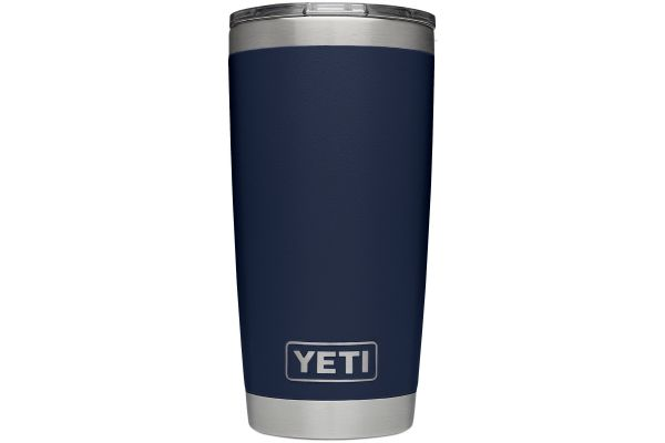 Large image of YETI Navy 20 Oz Rambler With MagSlider Lid - 21070060029