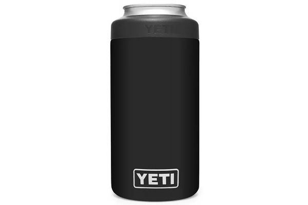 Large image of YETI Black 16 Oz Rambler Colster Tall Can Insulator - 21070090051