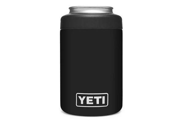 Large image of YETI Black 12 Oz Rambler Colster Can Insulator - 21070090063