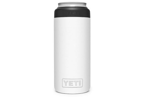 Large image of YETI White 12 Oz Rambler Colster Slim Can Insulator - 21070090082