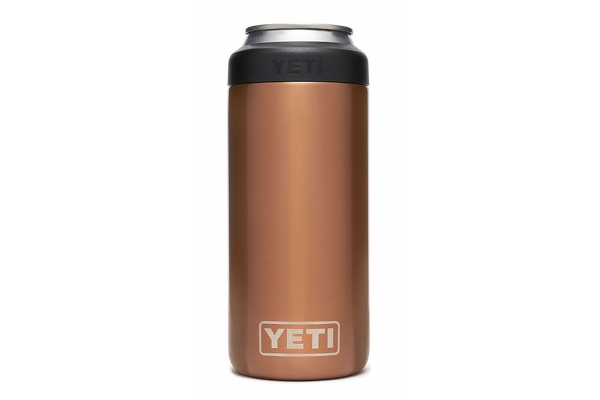 Large image of YETI Copper 12 Oz Rambler Colster Slim Can Insulator - 21070090122