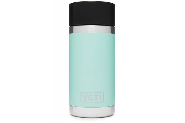 Large image of YETI Seafoam Rambler 12 Oz Bottle With HotShot Cap - 21071050004