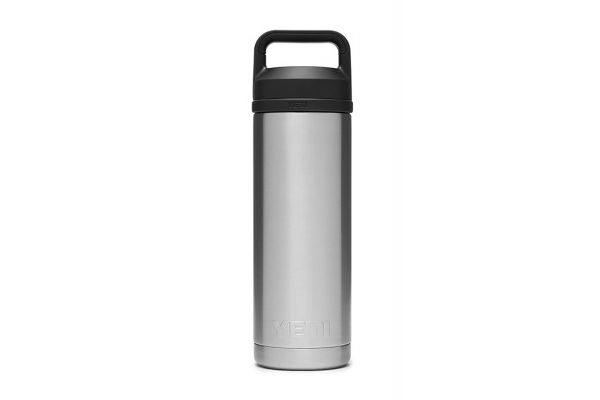Large image of YETI Rambler Stainless Steel 18 Oz Bottle With Chug Cap - 21071060017