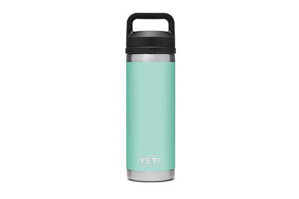 Large image of YETI Seafoam 18 Oz Bottle With Chug Cap - 21071060019