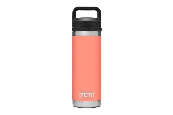 Large image of YETI Coral 18 Oz Bottle With Chug Cap - 21071060022