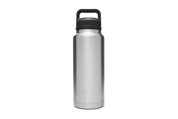 Large image of YETI Rambler 36 Oz Bottle With Chug Cap In Stainless Steel - 21071070013