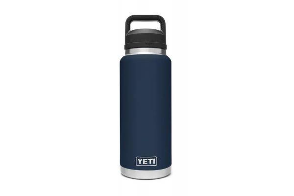Large image of YETI Rambler Navy 36 Oz Bottle With Chug Cap - 21071070017