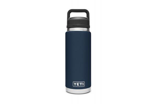 Large image of YETI Rambler Navy 26 Oz Bottle With Chug Cap - 21071200021