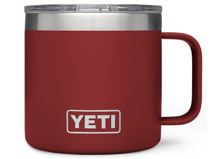 YETI Brick Red 14 Oz Rambler Mug - 21071300058