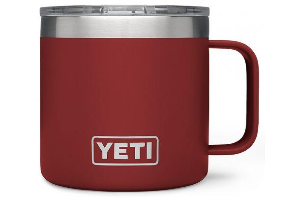 YETI Brick Red 14 Oz Rambler Mug - 21071300058