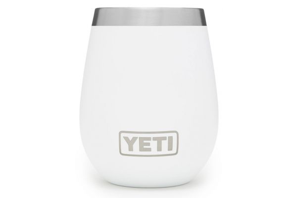 Large image of YETI Rambler 10 Oz Wine Tumbler White - 21071300066