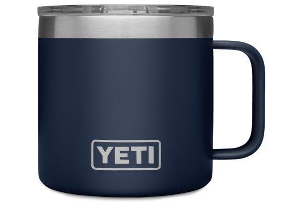 Large image of YETI 14 Oz Rambler Navy Mug - 21071300146