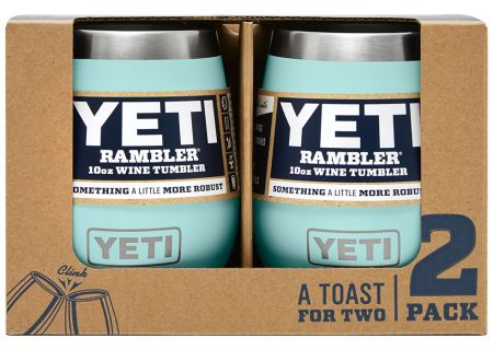 YETI Seafoam 10 Oz Rambler Wine Tumbler 2-Pack - 21071300196