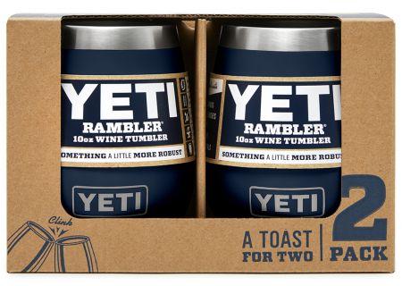 YETI Navy 10 Oz Rambler Wine Tumbler 2-Pack - 21071300213
