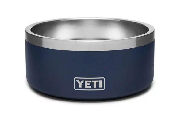 Large image of YETI Navy Boomer 4 Dog Bowl - 21071499971