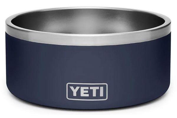 Large image of YETI Navy Boomer 8 Dog Bowl - 21071499998