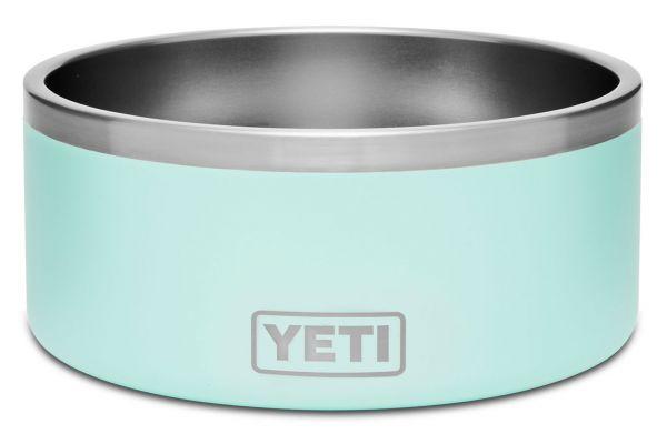 Large image of YETI Seafoam Boomer 8 Dog Bowl - 21071500002