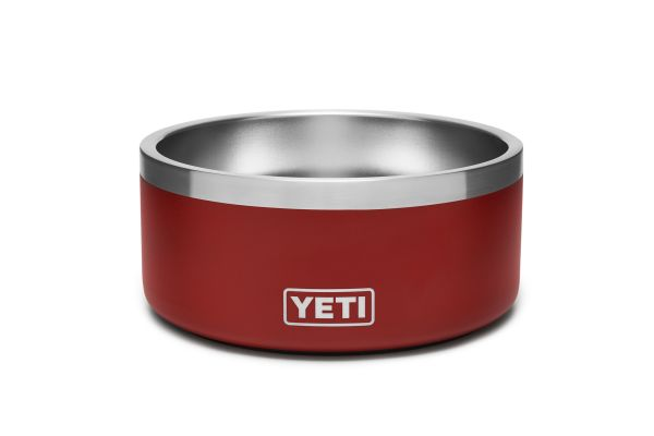 YETI Brick Red Boomer 4 Dog Bowl - 21071500012