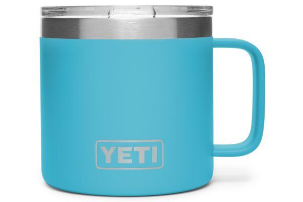 YETI Reef Blue 14 Oz Rambler Mug - 21071500027
