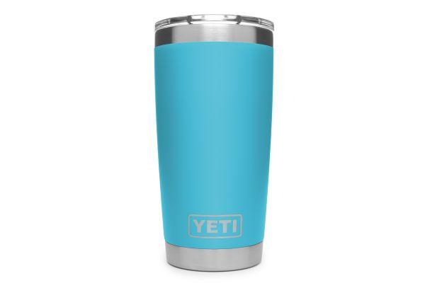 YETI Reef Blue 20 Oz Rambler Tumbler - 21071500028