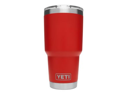 YETI Canyon Red 30 Oz Rambler With MagSlider Lid - 21071500040