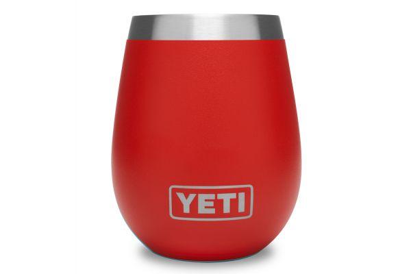 YETI Canyon Red 10 Oz Rambler Wine Tumbler - 21071500041
