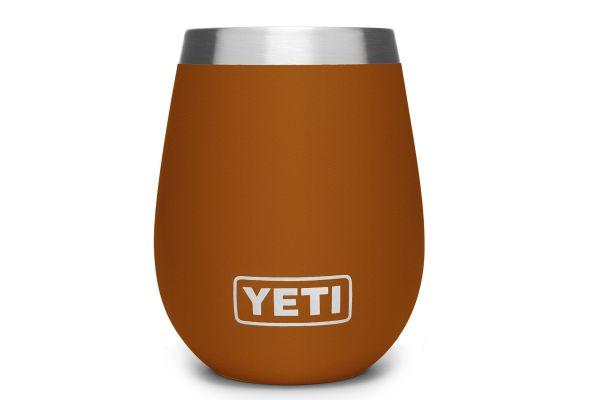 Large image of YETI Rambler 10 Oz Wine Tumbler Clay - 21071500117