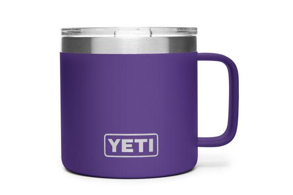 YETI Peak Purple 14 Oz Rambler Mug - 21071500146