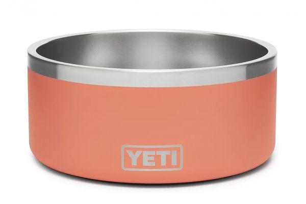 Large image of YETI Coral Boomer 8 Dog Bowl - 21071500256