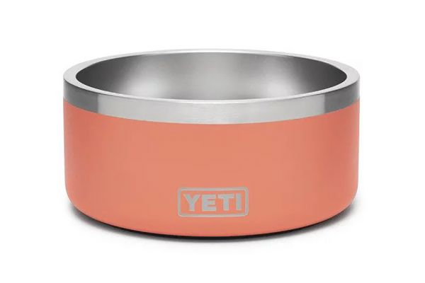Large image of YETI Coral Boomer 4 Dog Bowl - 21071500257