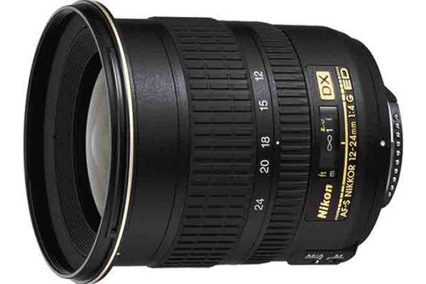 Large image of Nikon AF-S DX Zoom-Nikkor 12-24mm f/4G IF-ED Lens - 2144