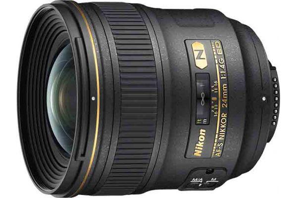 Large image of Nikon AF-S Nikkor 24mm f/1.4G ED Lens - 2184